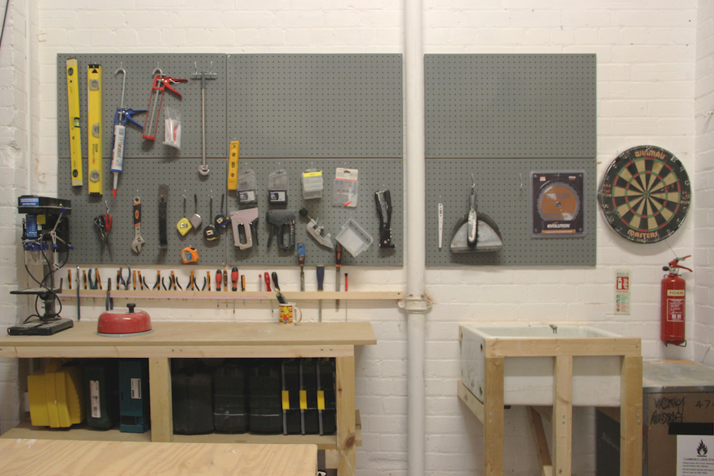 Artist Studio Workshop at Two Queens, Leicester
